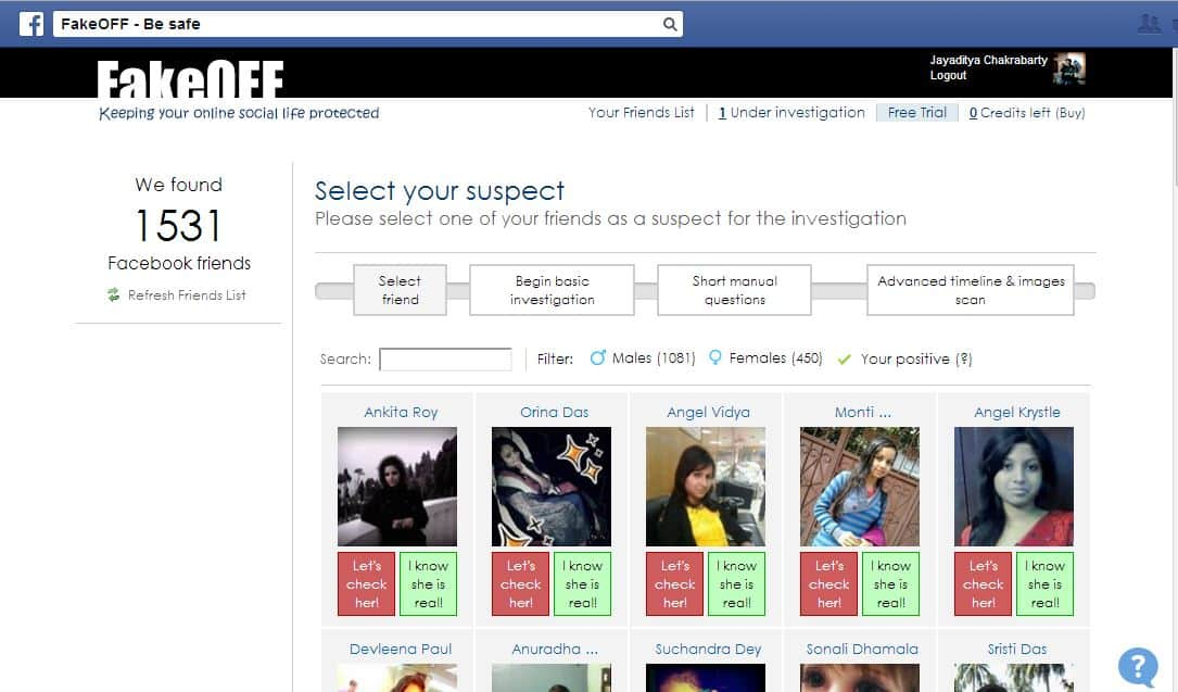 Wanna Save Yourself From Fake Account? FakeOff Is Here For You