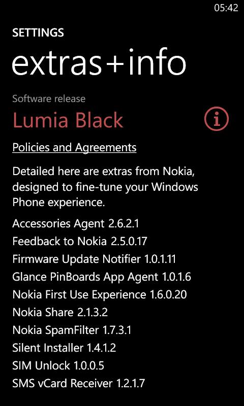 lumia black update for lumia 625 & 520