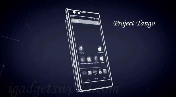 project-tango igadgets world